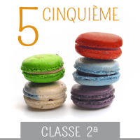classe seconda media - cinquieme