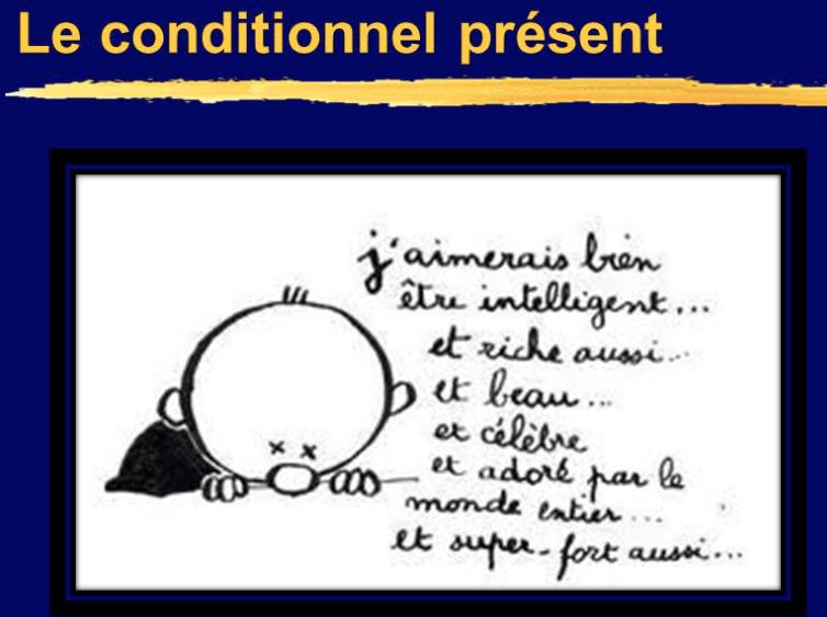 Le Conditionnel Present Le Temps De La Politesse Et Du Potentiel Je Suis La